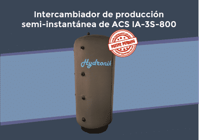 Patente Intercambiador ACS IA-3S-800