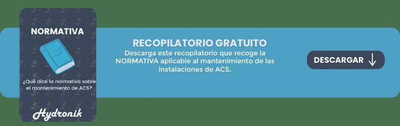 Recopilatorio normativa mantenimiento acs