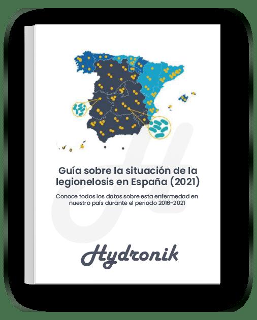 Portada Ebook - Situación de la Legionelosis en España