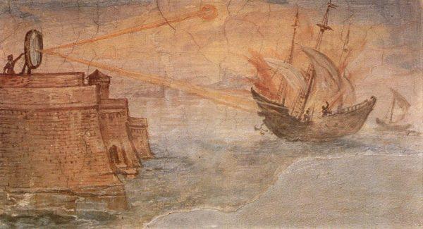 Pintura Giulio Parigi - Energia solar fotovoltaica historia